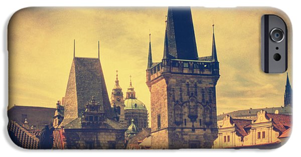 Charles River iPhone Cases - Praha iPhone Case by Taylan Soyturk