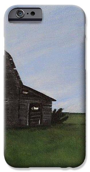 Prairie Barn iPhone Case by Jesslyn Fraser