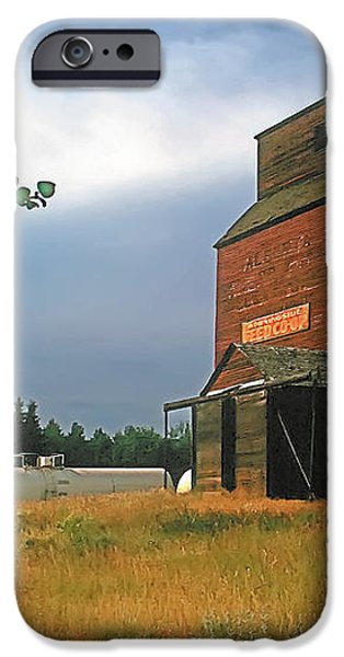 Prairie Sentinel iPhone Case by Terry Reynoldson