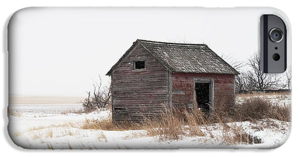 White House iPhone Cases - Prairie silence... iPhone Case by Nina Stavlund