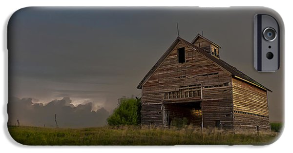 The White House Photographs iPhone Cases - Prairie Storm iPhone Case by Tom Phelan