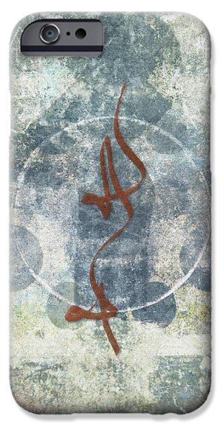 Prayer Flag 12 iPhone Case by Carol Leigh