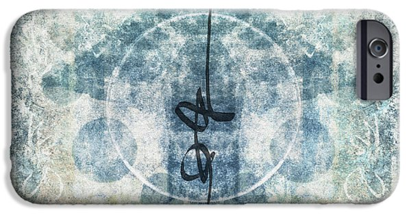 Religious iPhone Cases - Prayer Flag 13 iPhone Case by Carol Leigh