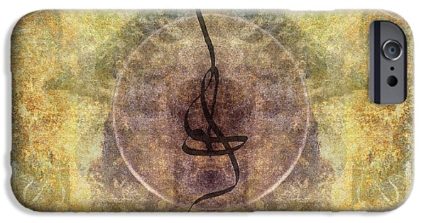 Tibetan Buddhism iPhone Cases - Prayer Flag 28 iPhone Case by Carol Leigh