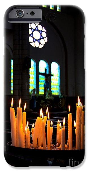 Prayers In Gualaceo Ecuador iPhone Case by Al Bourassa