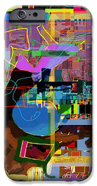 precious is man for he is created in the Divine Image 10 iPhone Case by David Baruch Wolk