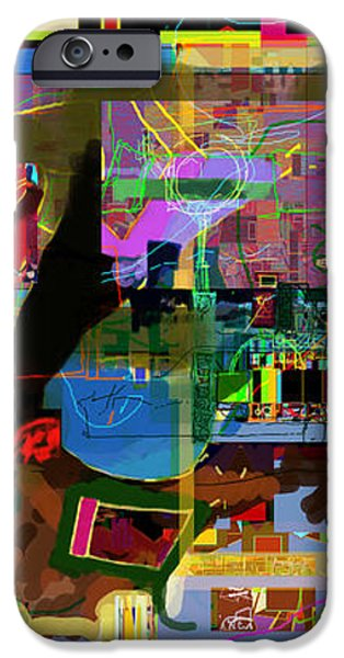 precious is man for he is created in the Divine Image 13 iPhone Case by David Baruch Wolk