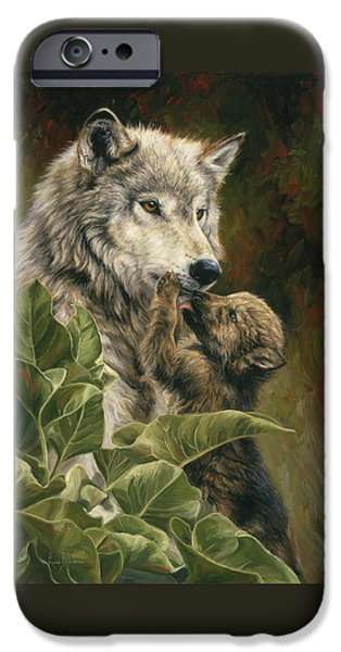 Precious Moment iPhone Case by Lucie Bilodeau