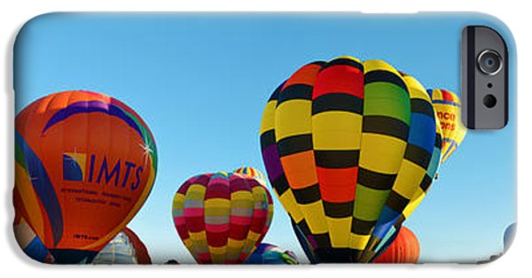 Hot Air Balloon iPhone Cases - Prepare for Liftoff iPhone Case by Gary Mosman