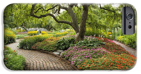 Park Scene iPhone Cases - Prescott Park - Portsmouth New Hampshire iPhone Case by Erin Paul Donovan