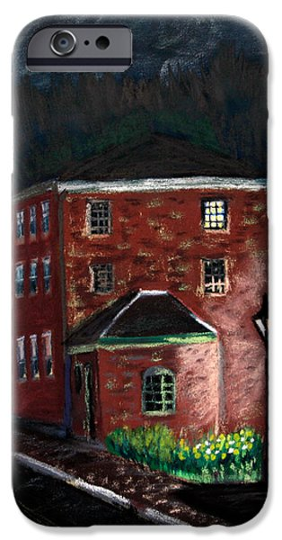 Prescott Park at Night iPhone Case by Francois Lamothe