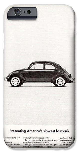 Volks iPhone Cases - Presenting Americas Slowest Fastback iPhone Case by Nomad Art And  Design