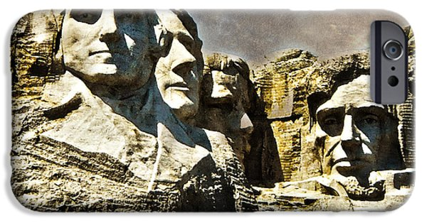 President iPhone Cases - Presidential Rocks iPhone Case by Judy Hall-Folde
