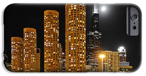 Chicago iPhone Cases - Presidential Towers Chicago iPhone Case by Christine Till
