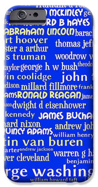 Presidents of The United States 20130625 iPhone Case by Wingsdomain Art and Photography