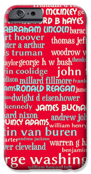 Obama iPhone Cases - Presidents of The United States 20130625p120 iPhone Case by Wingsdomain Art and Photography