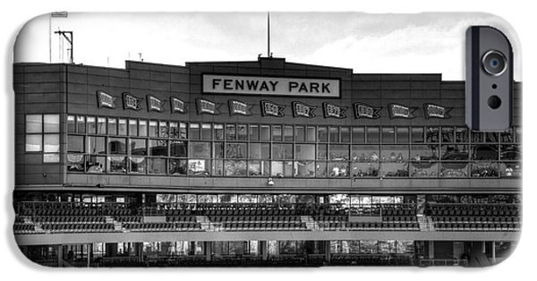 Fenway Park iPhone Cases - Press Box iPhone Case by Jonathan Harper
