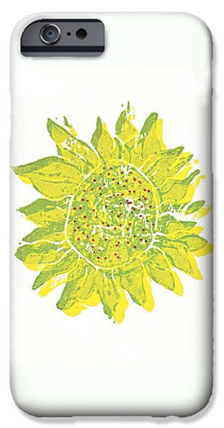 Pretty Sunflower  iPhone Case by Lynn-Marie Gildersleeve