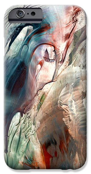 Must Paintings iPhone Cases - Previous life visions iPhone Case by Cristina Handrabur