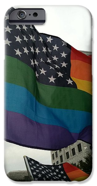 Freedom iPhone Cases - Pride iPhone Case by Allee Rushing