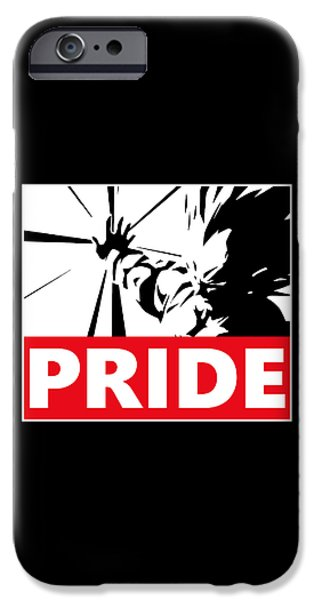 Wwf iPhone Cases - Pride iPhone Case by Danilo Caro