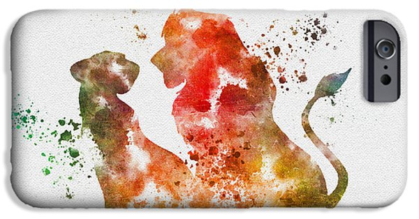 Ceremony iPhone Cases - Pride of Africa iPhone Case by Rebecca Jenkins