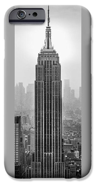 Empire State Building iPhone Cases - Pride Of An Empire iPhone Case by Az Jackson