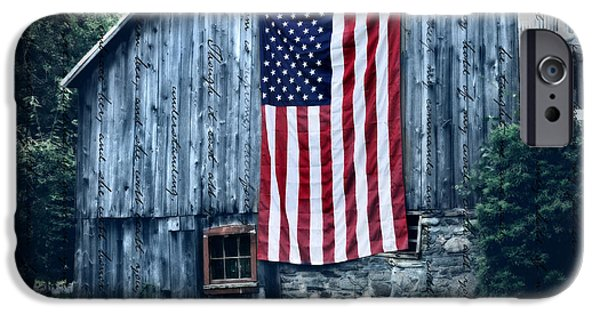 Barns Photographs iPhone Cases - Pride iPhone Case by Thomas Schoeller