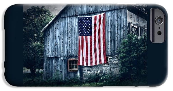 Patriotic Photographs iPhone Cases - Pride iPhone Case by Thomas Schoeller
