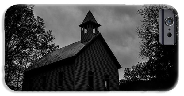 Creepy iPhone Cases - Primitive Church iPhone Case by Sherri Duncan