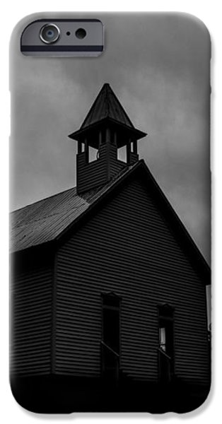 Primitive Church iPhone Case by Sherri Duncan