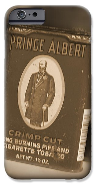 Prince Albert in a Can iPhone Case by Mike McGlothlen