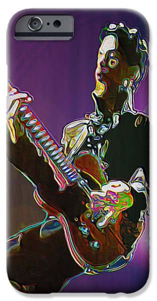 Celebrities Digital iPhone Cases - Prince iPhone Case by  Fli Art