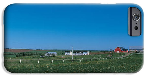 Meadow Photographs iPhone Cases - Prince Edward Island Canada iPhone Case by Panoramic Images