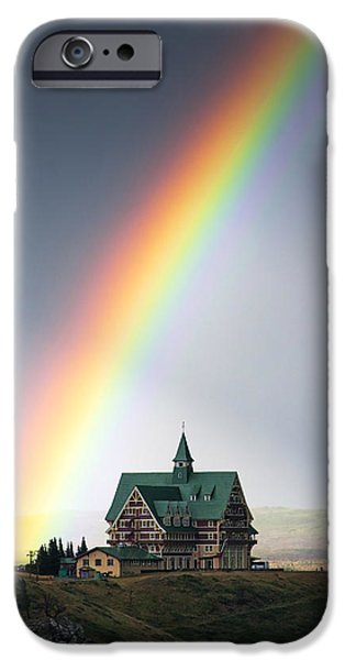 Prince iPhone Cases - Prince of Wales Rainbow iPhone Case by Mark Kiver