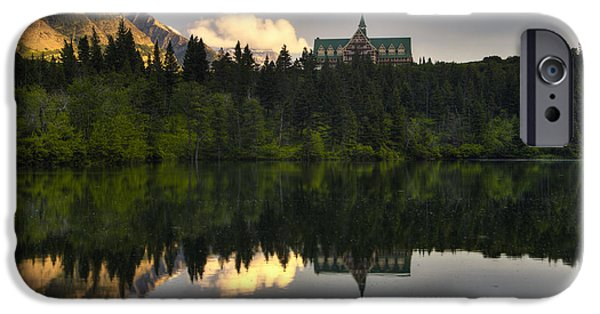 Prince iPhone Cases - Prince of Wales Reflection iPhone Case by Mark Kiver