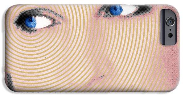 Princess Diana iPhone Cases - Princess Lady Diana iPhone Case by Tony Rubino