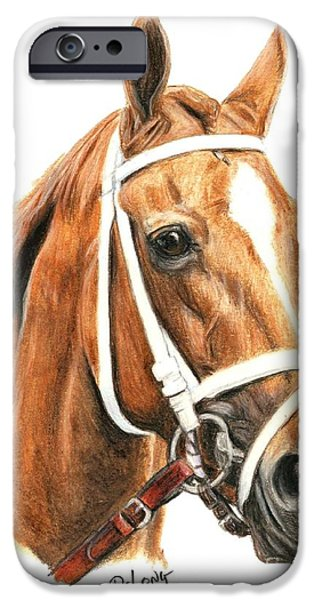 Princess iPhone Cases - Princess Of Sylmar iPhone Case by Pat DeLong