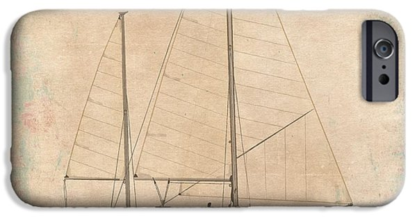 Sailboat Ocean iPhone Cases - Princess Rose iPhone Case by Regina Marie Gallant