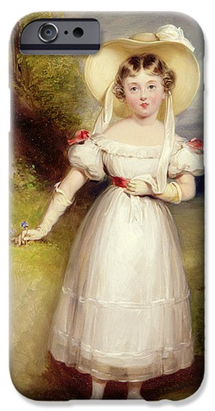 Youthful iPhone Cases - Princess Victoria iPhone Case by Stephen Smith