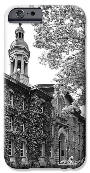 Special Occasion Photographs iPhone Cases - Princeton University Nassau Hall iPhone Case by University Icons