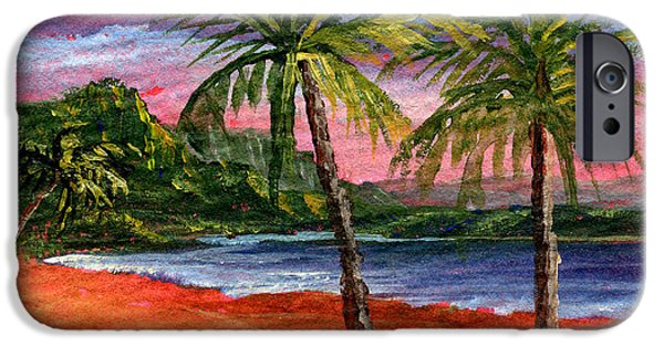Hawaii Islands iPhone Cases - Princeville Kauai iPhone Case by Darice Machel McGuire