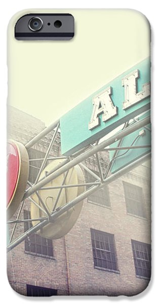 Printers Alley iPhone Case by Amy Tyler