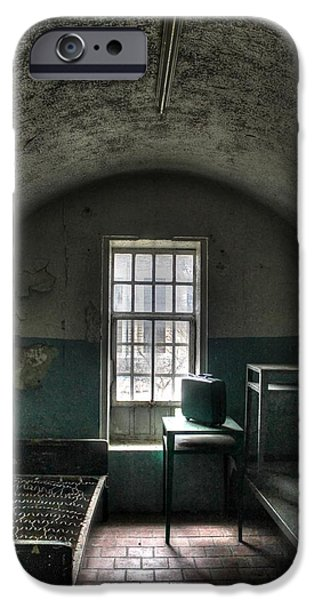 Prison Cell iPhone Case by Jane Linders