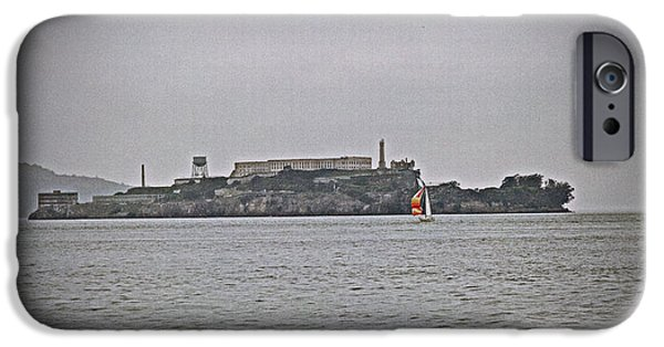 Alcatraz iPhone Cases - Prison iPhone Case by Joe Fernandez