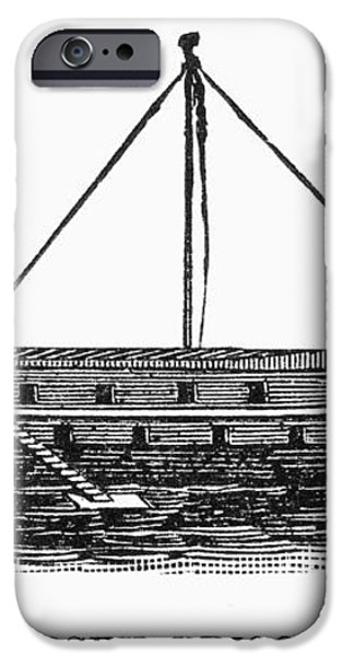 PRISON SHIP: JERSEY iPhone Case by Granger