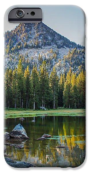 Pristine Alpine Lake iPhone Case by Robert Bales