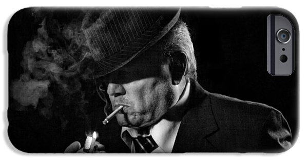 Police iPhone Cases - Private Eye iPhone Case by Jeff Burton