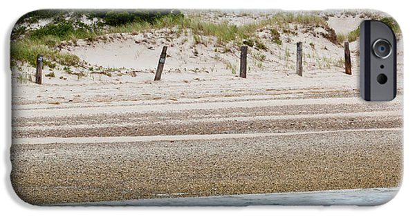 Sand Fences iPhone Cases - Private Property iPhone Case by Michelle Wiarda