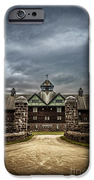 Creepy iPhone Cases - Private School iPhone Case by Edward Fielding